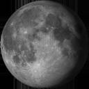 Lune Gibbeuse Décroissante